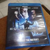 Blu ray Equilibrium (2011) Reg A US - Second