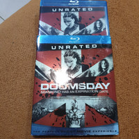Blu ray Doomsday Reg A US Slipcover - Second