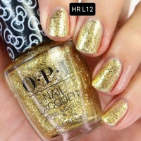 Kutek OPI Nail Polish / OPI Glitter All The Way / OPI HR L12 / Lacquer