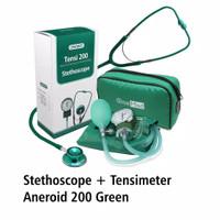 Tensi aneroid 200 dan stethoscope