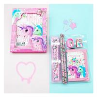 Dompet unicorn set yy