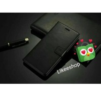 Leather Flip Case Wallet Xiaomi Mi 8 Lite / Note bambu Casing Cover