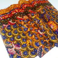 batik tulis Lasem Motif gunung ringgit