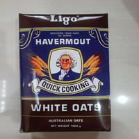 ligo havermout quick cooking white oats 1kg / ligo 1kg