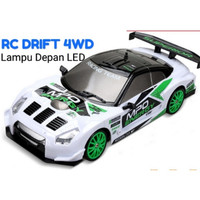OBRAL !! RC DRIFT 4WD LAMPU LED 2.4G MOBIL CAR REMOT NO WLTOYS SANZUAN