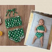 baju renang bayi 3bln-4thn volcadot lucu