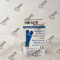 tes strip kolesterol nesco