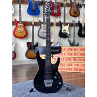 gitar listrik ibanez s series hitam