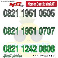 Nomor Cantik Simpati telkomsel 4G LTE seri 0821 xx Abab