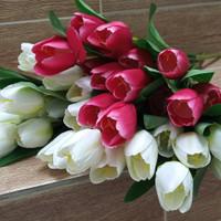 1 ikat ( 7 tangkai ) bunga tulip artificial