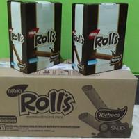 Nabati Rolls Cheese Wafer Stick (20pcs x 8gr)