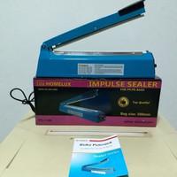 Impulse Sealer 30cm Hand Sealer Mesin Press HOMELUX body Plastik