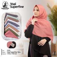 Kerudung Umama Basic Voal Polos Segi Empat Hijab Jilbab