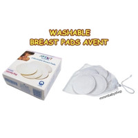 Breast Pad Washable AVENT 6pcs