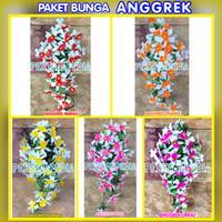 Bunga Anggrek Artificial/Anggrek Palsu/Anggrek Hiasan/Anggrek Dekorasi