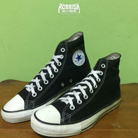 SEPATU CONVERSE CHUCK TAYLOR ALL STAR BLACK WHITE BEKAS / SECOND