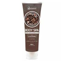 Hanasui Body Spa Peeling Gel - Penghilang Daki -Perontok Daki - Coffee