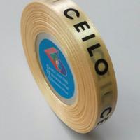 Sablon Label Pita (baju,hijab,tas,boneka,souvenir,dll)