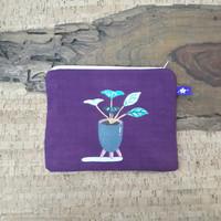 painted pouch anggraini craft. dompet pouch lukis - plantae 10