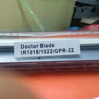 Doctor blade IR1022 IR1024 IR1023