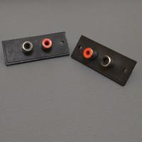 Soket RCA 2 pin