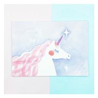 buku gambar sketch book unicorn v2