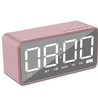 Speaker Bluetooth Jam Digital Alarm Clock Radio FM Mega Bass