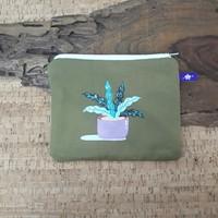 painted pouch anggraini craft. dompet pouch lukis - plantae 12
