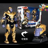 Mainan Action Figure Marvel Avengers Endgame Thanos Deformation
