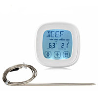 Termometer Masak Daging BBQ Touchscreen Digital Cooking Thermometer O
