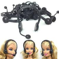 Mainan Accesoris Boneka Barbie Headset Microphone