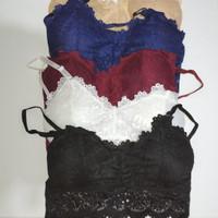 Bralette brukat wanita import bra wanita bh wanita brukat fashion lace