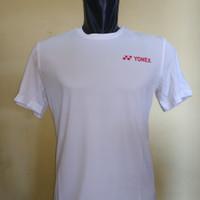 kaos badminton Yonex Tru Breeze Original White/Tomato