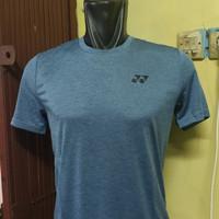 kaos badminton Yonex Tru Breeze Original Dusty Blue