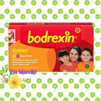 BODREXIN tablet Hisap rasa jeruk (Obat Demam untuk anak-anak)
