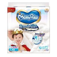 Mamypoko Extra Dry Royal Soft Perekat L48