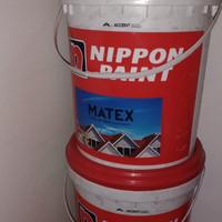 Cat Genteng Matex by Nippon Paint 20kg Pail Warna 808J Leaf Green
