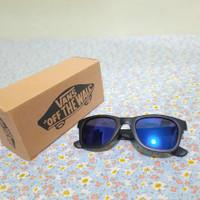 Kacamata Sunglas VANS mirror/kacamata hitam pria wanita -Biru