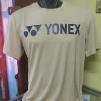 kaos badminton Yonex Tru Breeze Original Warm Sand/Dark Green