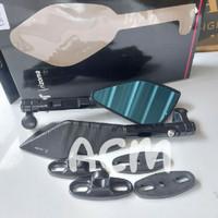 Spion tomok v5 Rizoma black - Xmax Nmax Aerox Pcx Adv Cbr R15 Ninja