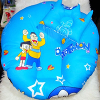 Sofa Bed / Bantal Bayi Motif Doraemon