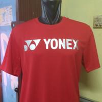 kaos badminton Yonex Tru Breeze Original High Risk Red/Silver
