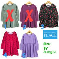 Dress Anak perempuan The children place 3 tahun branded sisa eksport