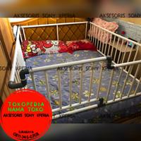 Pagar pengaman kasur,bedrail,ranjang untuk anak bayi