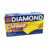 Keju Diamond Cheddar Cheese 180 Gram