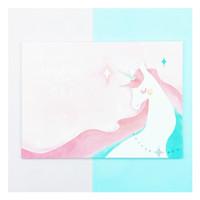 buku gambar sketch book unicorn v3