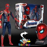 Mainan Action Figure Marvel Avengers Endgame Spiderman Deformation