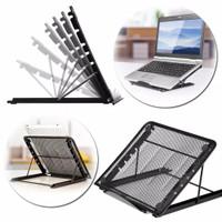 Dudukan Peninggi Laptop Portable Laptop Stand Adjustable Angle - IV01