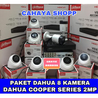 PROMO PAKET CCTV DAHUA 8 CHANNEL 8 KAMERA 2MP FULL HD KOMPLIT