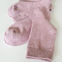 Kaos Kaki Wanita / Ladies Socks - PREMIUM M (Size 35-38) - Dusty Pink